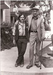 harold-norse-and-willaim-s-burroughs-at-naropa-institue-july-1980.