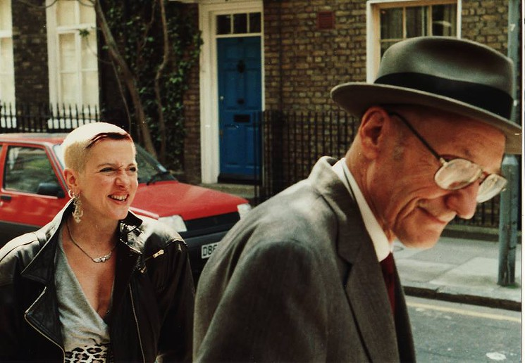 Kathy Acker and William S. Burroughs