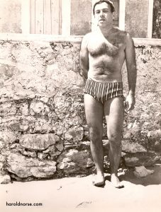 Harold in Crete 1963 by Thanassis
