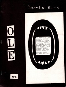 Olé, No. 5, San Francisco: Open Skull Press, 1966